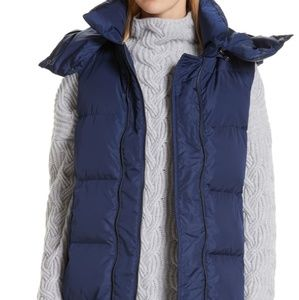 Nwt Nordstrom's Womens Puffer Vest Size L